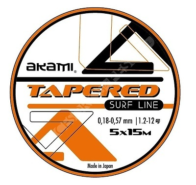 AKAMI TAPERED SURF LINE ORANGE