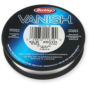 BERKLEY FLUOROCARBON VANISH 100 mts.