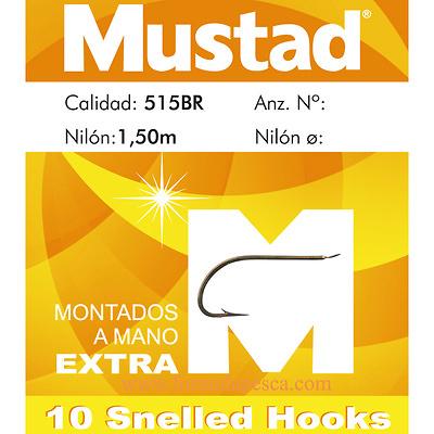 MUSTAD ANZUELOS MONTADOS 515