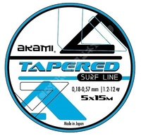 AKAMI TAPERED SURF LINE CLEAR