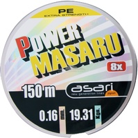 ASARI POWER MASARU PE 8X - 150 mts.